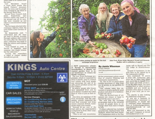 We've been busy running the Fruit Exchange!