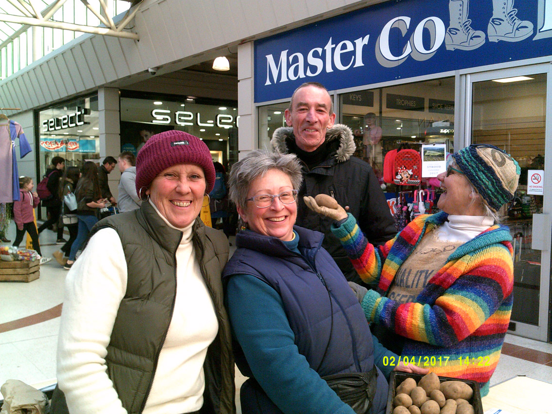 7th Annual Stroud Potato Day 2017 results and thanks
