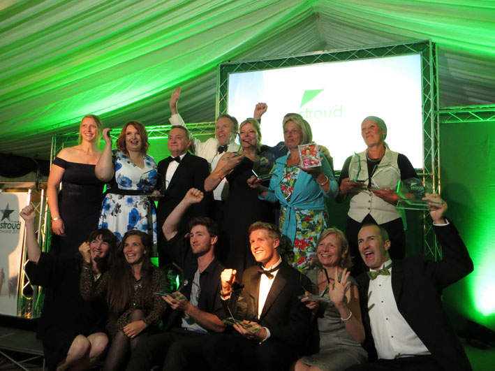 Stroud Life Business Awards double award winners!